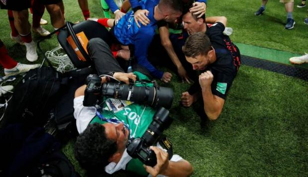 El relato de Yuri Cortéz por la celebración de Croacia (Foto: Getty Images / Video: Récord).
