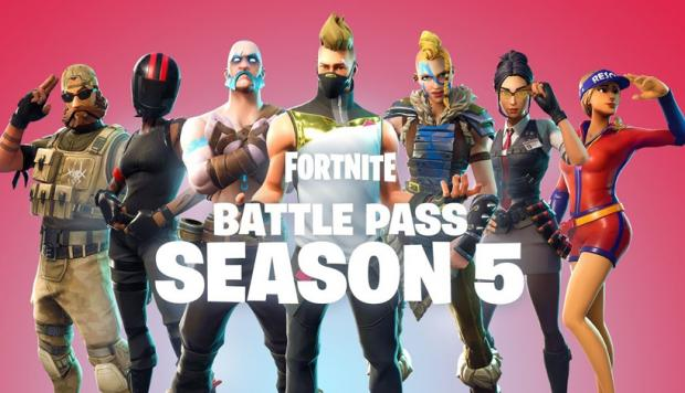 39 fortnite battle royale 39 temporada 5 las novedades for Fortnite temporada 5 sala