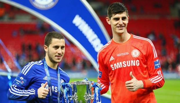 Eden Hazard y Thibaut Courtois interesan al Real Madrid. (Getty Images    Goal) 75f40c7940572