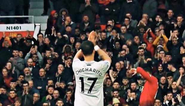 Youtube: Chicharito Hernández tuvo ensordecedora despedida en Old Trafford | NNDC
