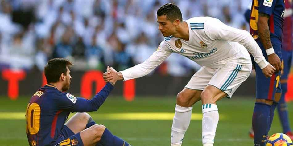 Lionel Messi habló sobre Cristiano Ronaldo y Real Madrid (Foto: Getty Images).