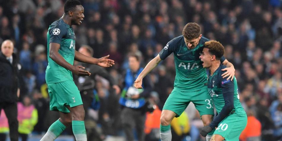 Tottenham Hotspur Vs Manchester City 2019 Eliminatorias En Vivo