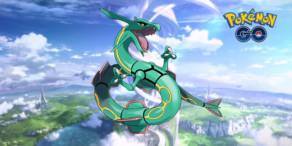 how to catch rayquaza pokemon go