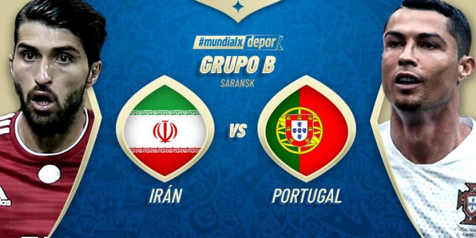 Portugal vs Iran LIVE: watch the match today ONLINE TV LIVE by date