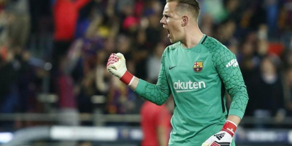 Barcelona vs Sevilla: 'felina' reaction of Ter Stegen before Sarabia's shot | Supercopa of Spain | VIDEO | Spain