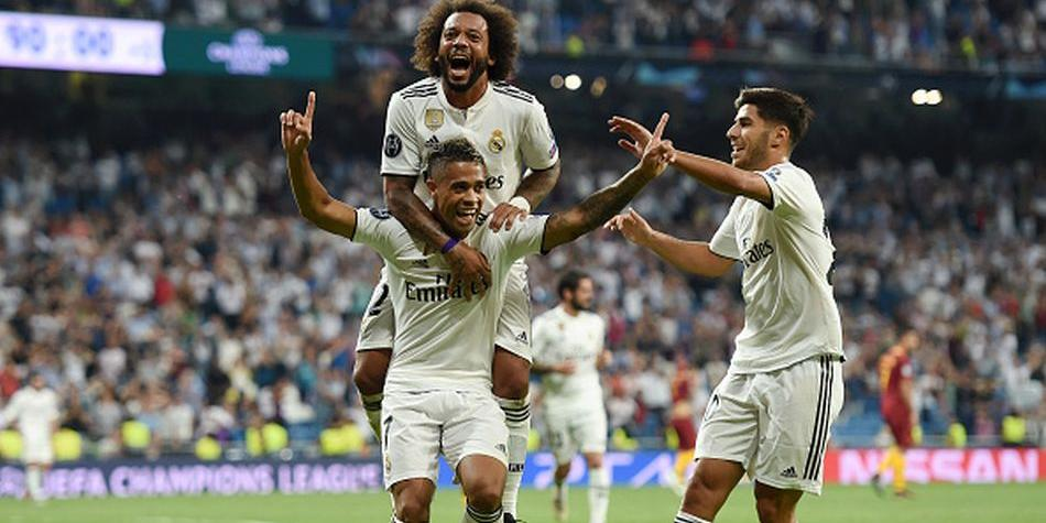 Real Madrid goleó 3-0 a Roma por la Champions League 2018. (Getty Images)