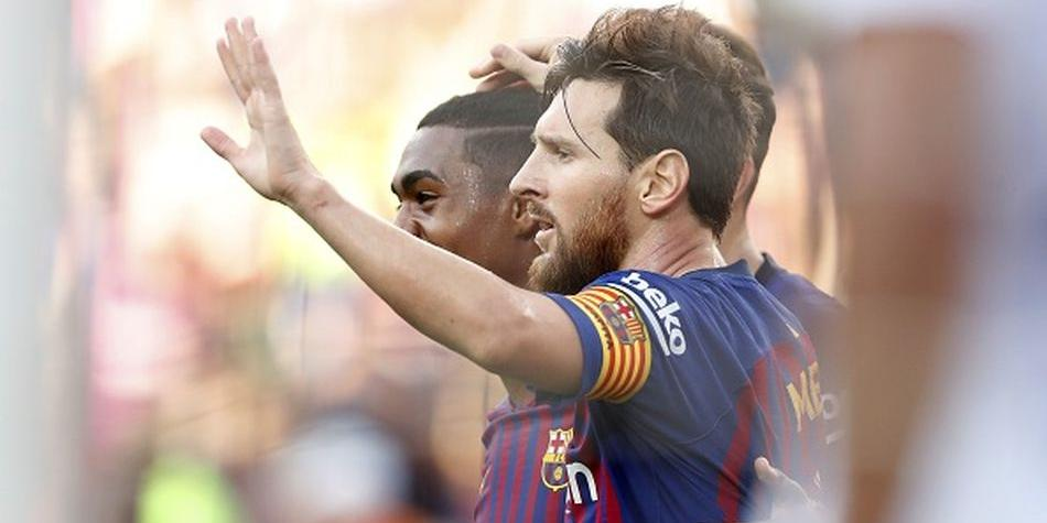 Barcelona confirma regreso de Messi y descarte de Dembélé