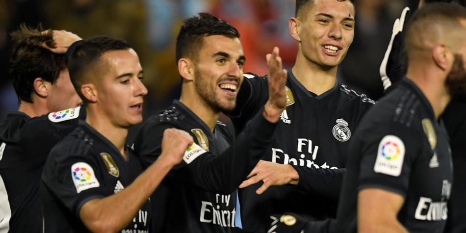 Real Madrid vs. Celta: Dani Ceballos marcó golazo para sellar la goleada merengue | NNDC