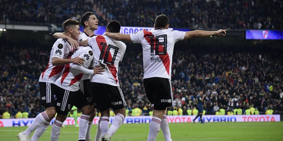Image result for river plate campeon 2018 goles