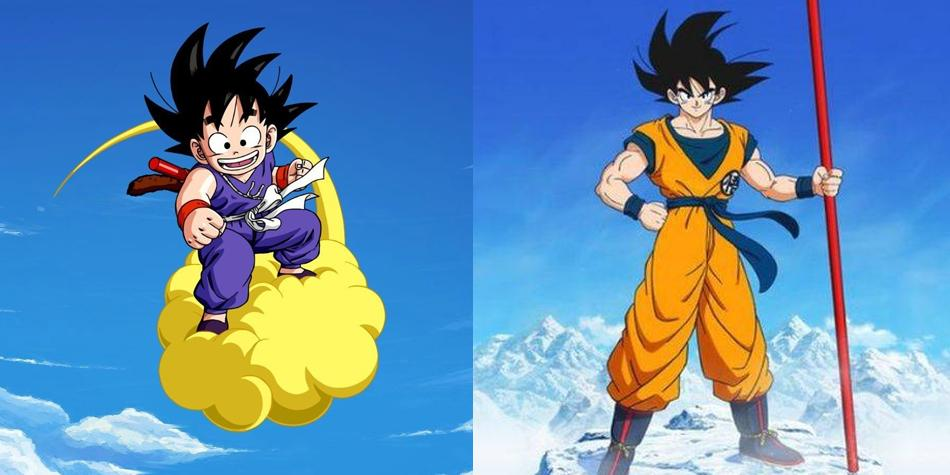Dragon Ball Super Goku Met His Version Of The Past In A Special
