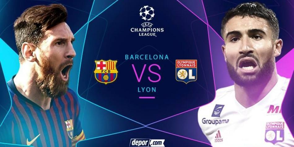 Image result for Barcelona vs Lyon en vivo online