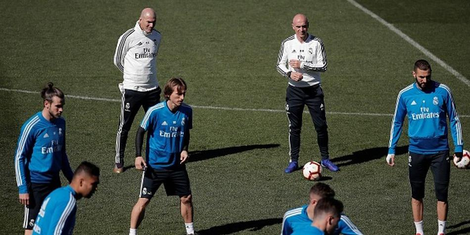 La primera convocatoria de Zidane previa a su debut con el Real Madrid por LaLiga. (Getty)