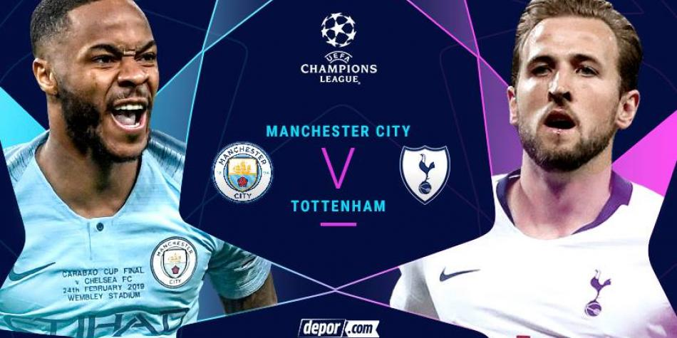 Manchester City Vs Tottenham Hotspur En Vivo Movistar
