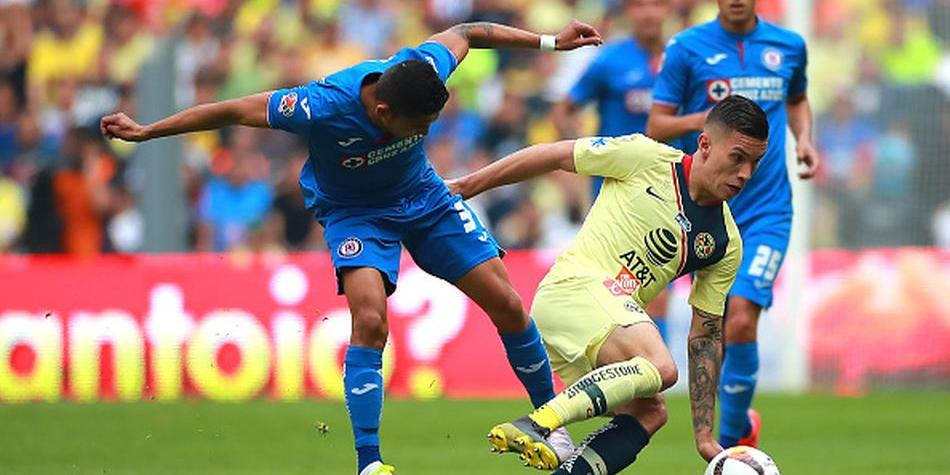 América empató 0-0 ante Cruz Azul en Estadio Azteca por el Clausura 2019 de Liga MX. (Getty Images)