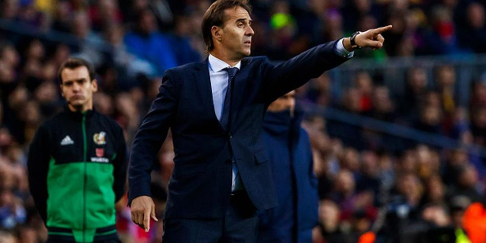Lopetegui en el Real Madrid. (Getty)