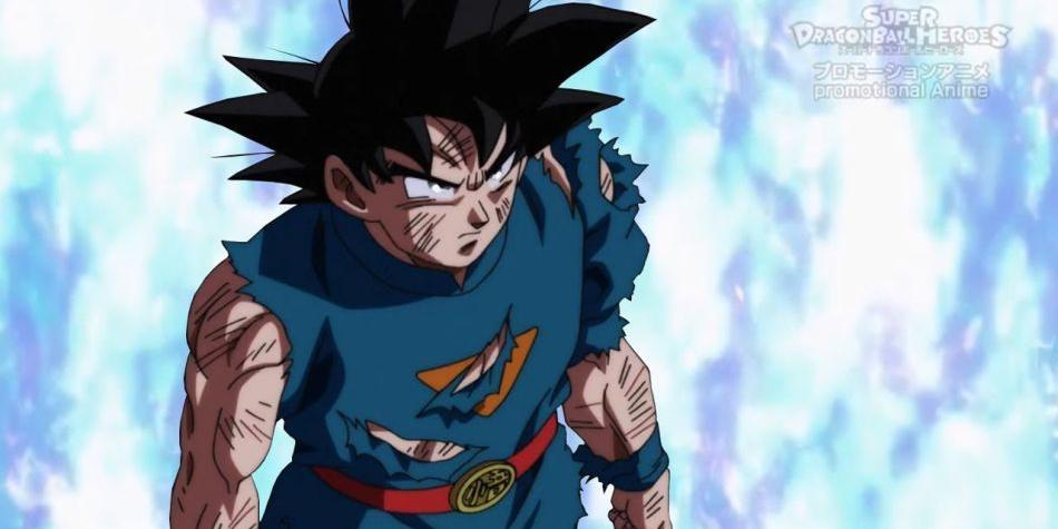 Dragon Ball Heroes Dragon Ball Super It Is There Show The Title