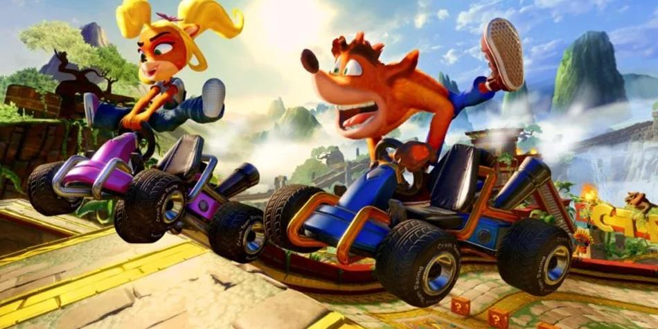 Prepárate para la acción de Crash Team Racing Nitro-Fueled