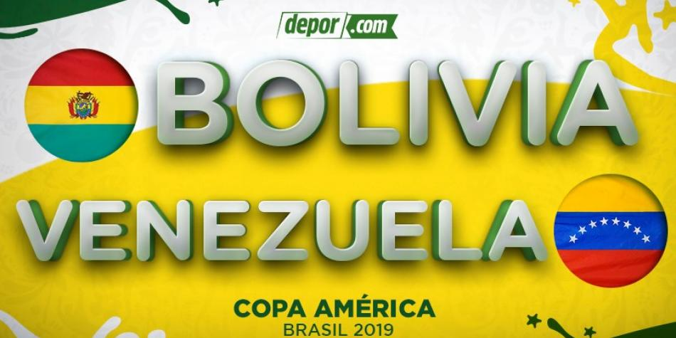 Venezuela vs  Bolivia LIVE from Belo Horizonte: What is the time to