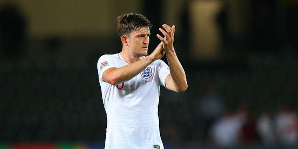 Harry Maguire es internacional con Inglaterra. (Getty)