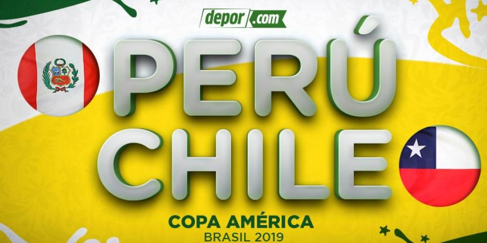 IN VIU Peru vs  Chile via América TV and DIRECTV for Copa