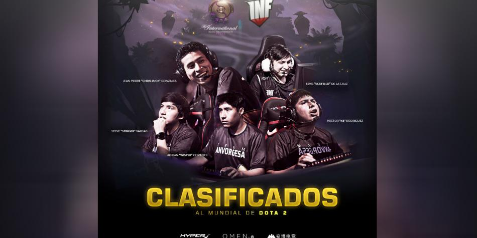Infamous Gaming clasifica al torneo The International de DotA 2