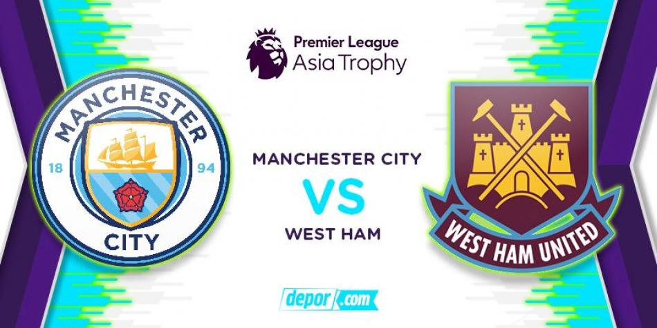 Chicharito y West Ham caen ante el City en el Asia Trophy