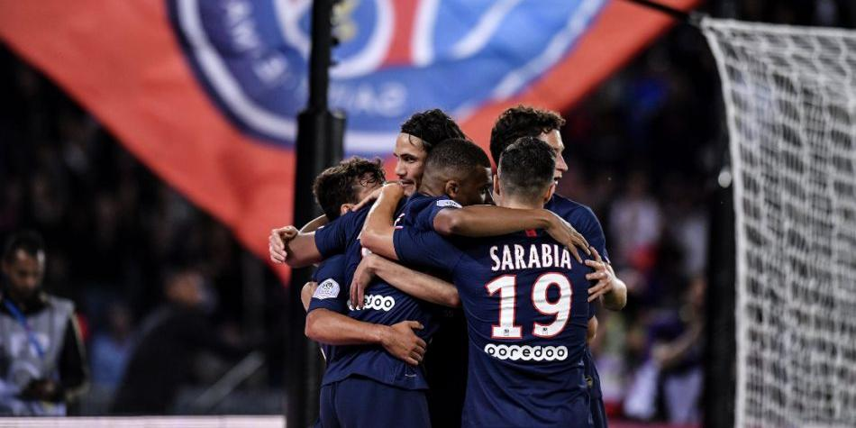 PSG aplastó por 3-0 al Nimes en su debut en la Ligue 1 2019-20. (Getty Images)