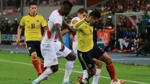 Perú y Colombia empataron 1-1 en partido de Eliminatorias 2018. (Getty)