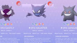 Shiny Gastly, Haunter y Gengar