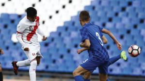 Perú anotó en el Sudamericano Sub 15 con blooper del arquero de Croacia [VIDEO]