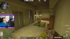 "Erik ""fl0m"" Flom jugando casualmente CS: GO. (Video: Internet)"