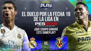 Real Madrid vs. Villarreal en PES 2018