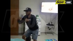 Facebook Viral: Pedro Gallese engríe a su hijo con divertido baile [VIDEO]