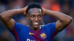 Yerry Mina saldría cedido por Barcelona  (Foto: Getty Images).