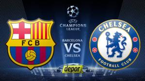 Barcelona vs. Chelsea por Champions League.