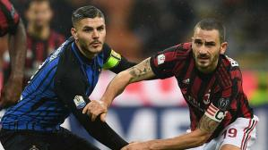 AC Milan e Inter de Milán juegan el derbi por la Serie A italiana (Foto: Getty Images).