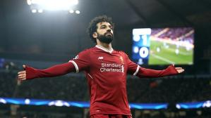 Mohamed Salah lidera la tabla camino a la Bota de Oro (Foto: Getty Images).