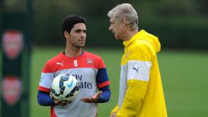 Arsene Wenger dirigió cinco años a Mikel Arteta en Arsenal (Foto: Getty Images).