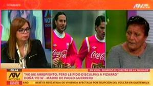 "Doña Peta: ""Paolo y Claudio Pizarro son amigos"" [VIDEO]"