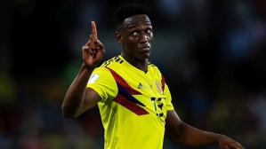 Yerry Mina anotó tres goles en la Copa del Mundo (Foto: Getty Images).
