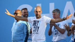 Josep Guardiola tiene contrato con Manchester City hasta 2021 (Foto: Getty Images).