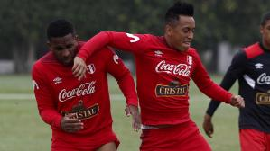 Jefferson Farfán y Christian Cueva son grandes amigos. (Getty Images)