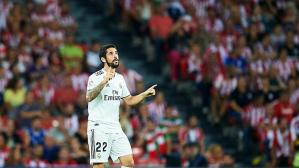 Isco no se mostró a gusto con el empate entre Real Madrid y Athletic Club. (Getty)