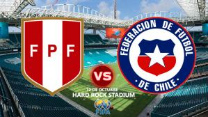 Perú vs Chile en vivo