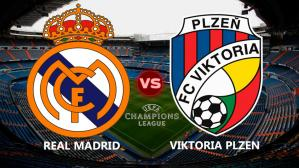 Real Madrid vs. Viktoria Plzen