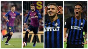 Barcelona vs. Inter de Milan