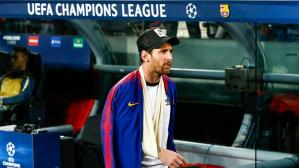 Lionel Messi fue convocado para el Barcelona vs. Inter de Milán por Champions League. (Getty)