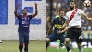 Boca Juniors vs. River Plate. (Getty images)