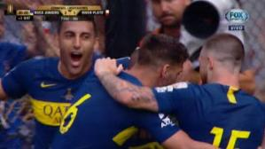 Benedetto anotó el 2-1 de Boca ante River por final de Copa Libertadores. (FOX Sports)