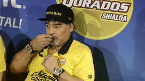 Liga MX ratificó la suspensión de Maradona para la final de Ascenso MX con Dorados. (Foto: Getty Images)